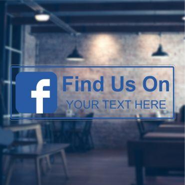 Facebook Social Media Sticker