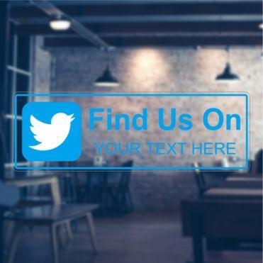 Twitter Social Media Sticker