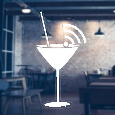 Glass Free WiFi Sticker
