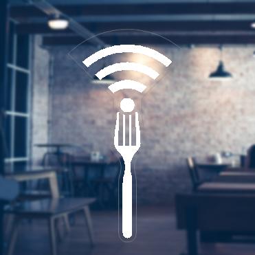 Fork Free WiFi Sticker