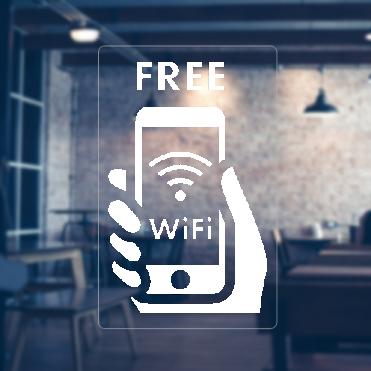 Phone Free WiFi Sticker