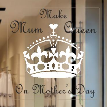Mother's Day Queen Sticker