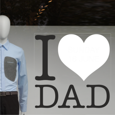 Love Father's Day Sticker
