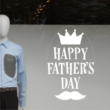 King Father's Day Sticker