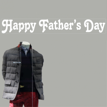 Tango Father's Day Banner Sticker