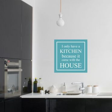 Personalised Framed Kitchen Sticker