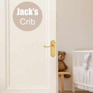 Personalised Circular Nursery Sticker