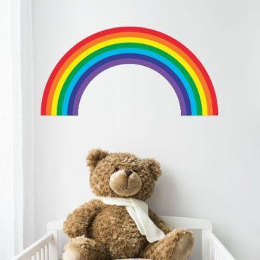 Rainbow Nursery Sticker