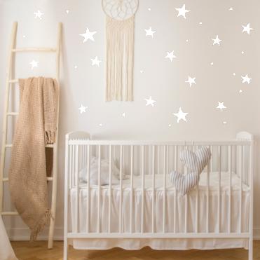 Star Nursery Room Stickers