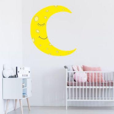 Moon Nursery Room Sticker