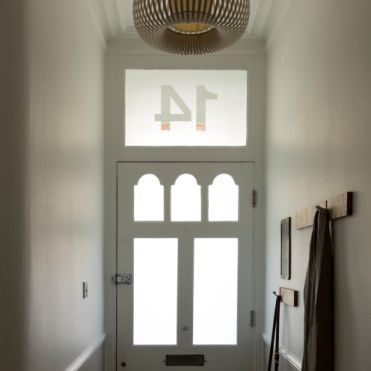 Transom House Number Stickers