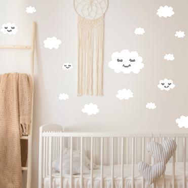 Cloud Nursery Room Stickers
