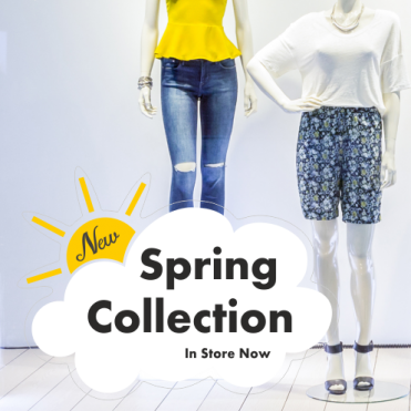 Sun & Cloud Spring Collection Sticker