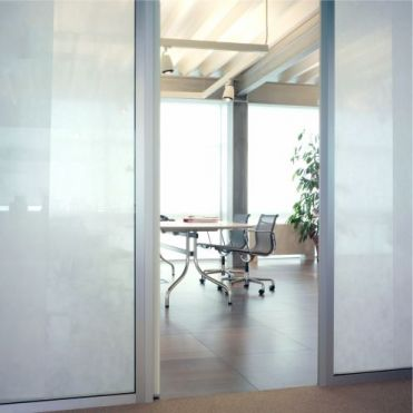 Opal Frost Glass Partition Film