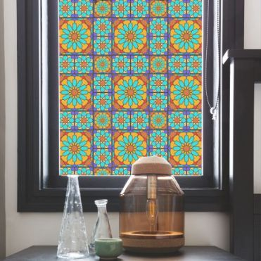 Fez Stained Glass Effect Window Film