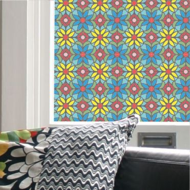 Soma Stained Glass Effect Window Film