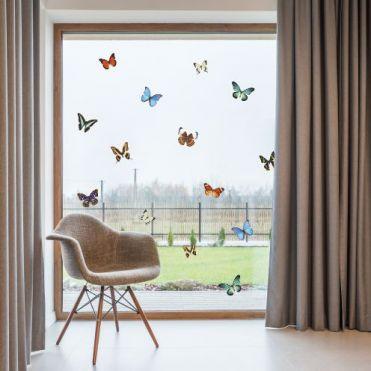 Butterfly Bird Strike Window Stickers