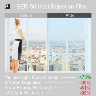 SER 50 Heat Rejection Window Film