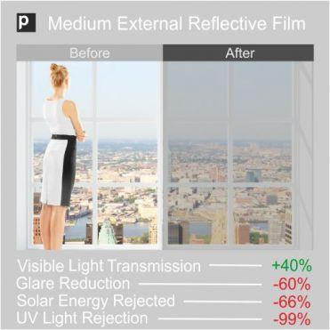SRF 60X Medium External Window Film