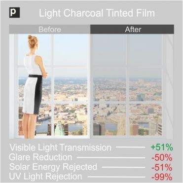 TSCF-50 Light Charcoal Window Tint
