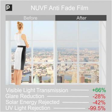 Anti Fade Window Film NUVF 60