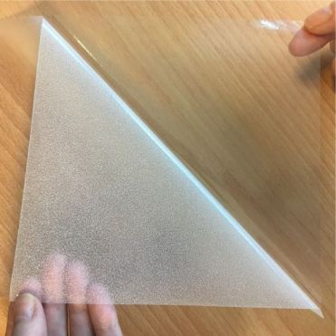 Temporary Glass Frosting Film