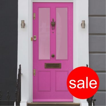 Pink Frosted Window Film