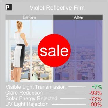 Violet Coloured Reflective Film