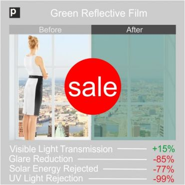 Green Coloured Reflective Film