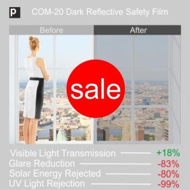 Dark Safety Reflective Window Film