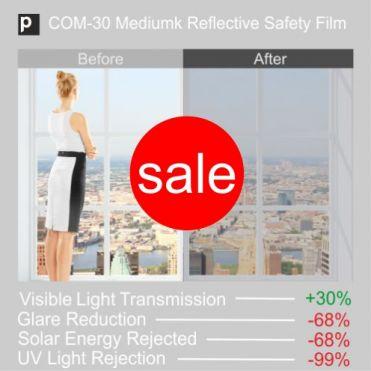 Medium Safety Reflective Window Film