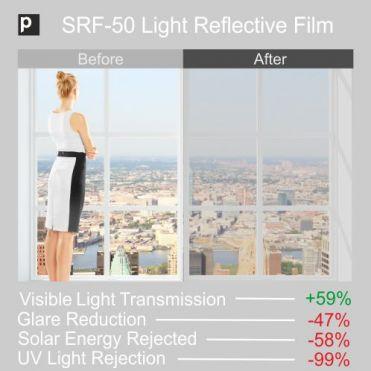 SRF 50 Light Reflective Window Film