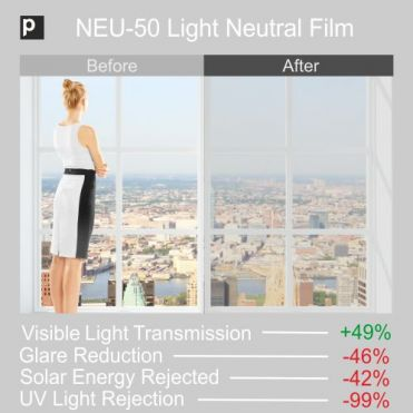 NEU-50 Light Tinted Neutral Film