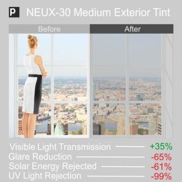 NEUX-30 Medium Exterior Tinted Film