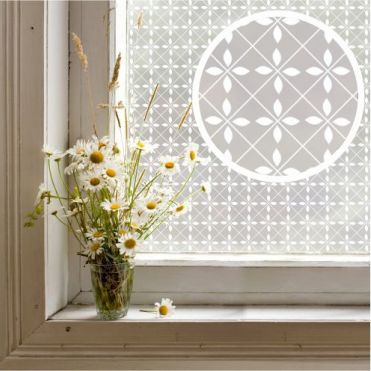Axminster Patterned Window Film
