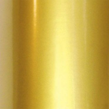 Shiny Gold Coloured Vinyl Film