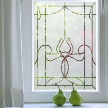 Laurent Art Nouveau Frosted Film