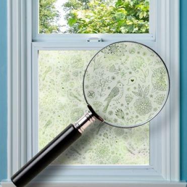 Folksy Window Film