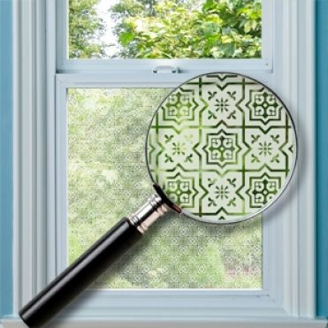 Henley Patterned Window Film