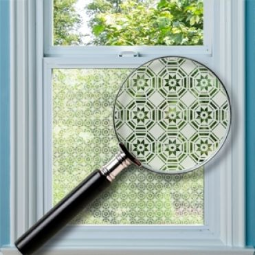 Olney Patterned Window Film