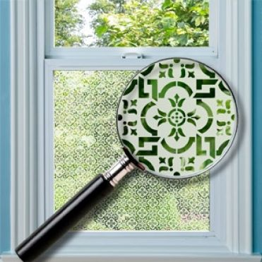 Chesham Patterned Window Film