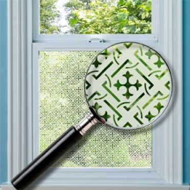 Chesterfield Patterned Window Film