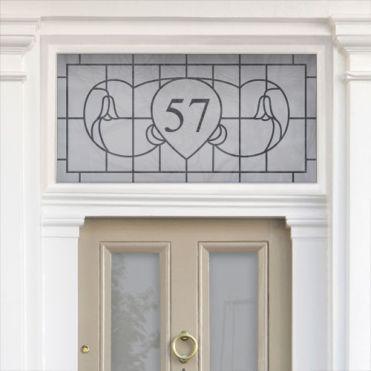 Art Nouveau House Numbers