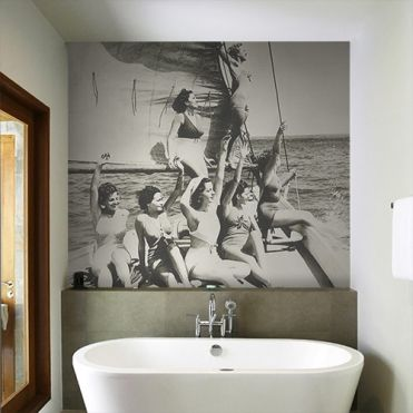 Bathers Wall Mural