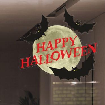 Bats Halloween Stickers