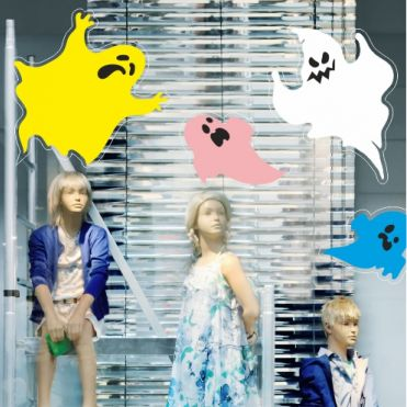 Ghost Halloween Stickers