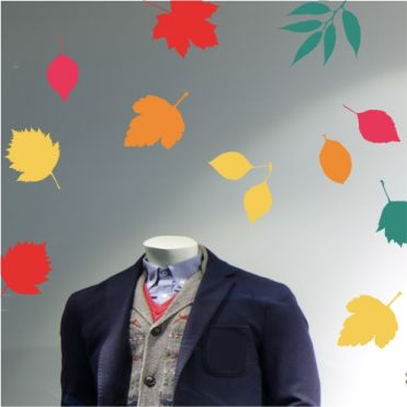 Colourful Leaves Stickers