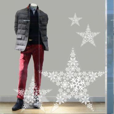 Snow Star Sticker