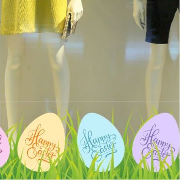 Easter Border Stickers
