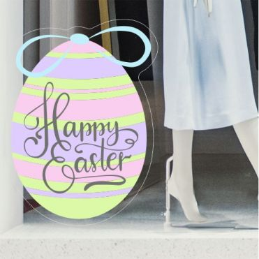 Easter Egg Shop Window Stickers
